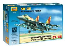 ZVEZDA 7240 RUSSIAN AIR SUPERIORITY FIGHTER SU-35 SCALE MODEL KIT 1/72 NEW