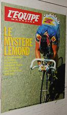 EQUIPE MAGAZINE N°535 1992 F1 WILLIAMS RENAULT KRABBE CYCLISME LEMOND NHL BOZON