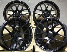 "19"" BLACK MS007 ALLOY WHEELS FITS AUDI A3 A4 A6 A8 Q3 Q5 TT 06  5X112"