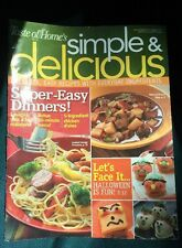 September/October 2007 Taste Of Home's Simple And Delicious Magazine CookBook