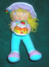 "KELLY TOY STRAWBERRY SHORTCAKE ANGEL CAKE 6"" PLUSH BEAN BAG TOY"