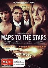 Maps To The Stars (DVD, 2015) - Brand New And Sealed