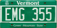 Vermont GREEN MOUNTAIN License Plate - SKI SKIING ALPINE