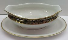 Royal Cathay China LAUREL MAGNOLIA Gravy Boat & Underplate EXCELLENT CONDITION!!