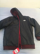NWT Men's The North Face Men`s Reversible Kingston II Jacket Cyk1 Black Red 149$