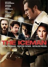 THE ICEMAN New Sealed DVD Winona Ryder James Franco