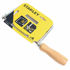 Stanley Woodworking Coping Saw Wood Handle ×4 PCS