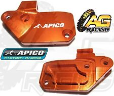 Apico Orange Front Clutch Reservoir Cover Brembo For KTM EXC/F 250 2006-2010 MX