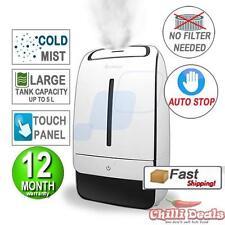 5L Ultrasonic cold Mist Air Diffuser Humidifier Nebuliser Purifier Vaporiser
