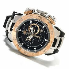 12880 Invicta Men 50mm Subaqua Noma V Swiss Quartz Chronograph Black Strap Watch