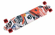 "Longboard Skateboard Cruiser Through downhill Complete-41"" X 9-1/2""-D254"