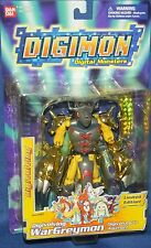 DIGIMON Digivolving Limited Edition WarGreymon Digivolves to Agumon New 2001