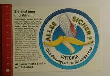 Aufkleber/Sticker: Victoria Versicherungsschutz für junge Leute (12081655)