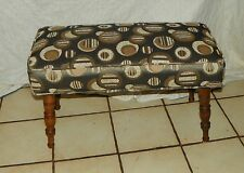 Maple Retro Print Bench / Stool   (BN6)