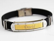 Nombre de la Pulsera de Silicona - DAVID - Regalos Para Hombres Novio Padre