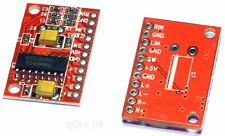 MINI Digital Power Amplifier Board 3W +3 W DC AMP Module 5V ALIMENTAZIONE USB-Regno Unito