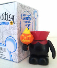 "DISNEY VINYLMATION 3"" ANIMATION 2 SERIES HEADLESS HORSEMAN CHASER HALLOWEEN TOY"