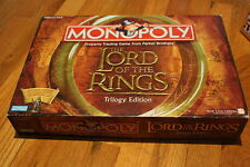 Monopoly Lord of the Rings Trilogy Edition Board Game