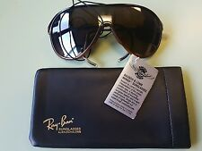 Vintage Bausch & Lomb WINGS New Ray Ban Sunglasses Mountaineering Glacier NOS