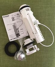 Siamp Optima 50 Dual Flush Toilet/Cistern Valve Siphon Chrome Push Button New