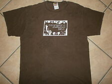 AUTOGRAPGHED THE KICKS CONCERT T SHIRT Hello Hong Kong BAND MEMBERS SIGNED Large