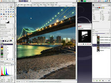 Software de edición fotográfica-Photoshop Cs6 Cs5 alternativa + Plus tutoriales Dvd