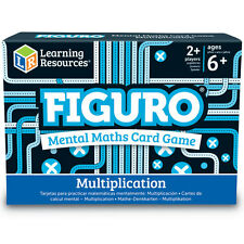 Figuro multiplication mental maths jeu de carte-children 's times tables pratique