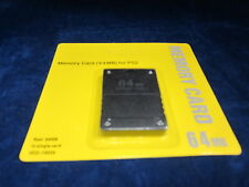 Old Skool Playstation 2 PS2 64MB Memory Card ** BRAND NEW **