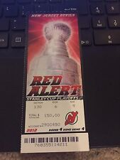 2012 NEW JERSEY DEVILS V LOS ANGELES KINGS STANLEY CUP FINALS TICKET STUB GAME 7