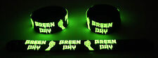Green Day  Glow in the Dark Rubber Bracelet Wristband Time of Your Life GG275