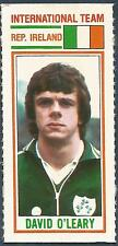 TOPPS-1981-FOOTBALLERS- #181-INTERNATIONAL TEAM-EIRE-DAVID O'LEARY
