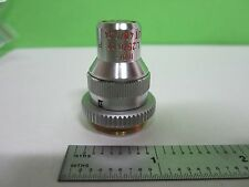 MICROSCOPE PART OBJECTIVE LEITZ UT 25X 40X POL OPTICS AS IS T1-11
