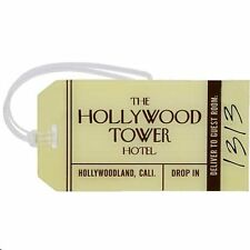 Disney's Hollywood Hotel Tower of Terror Luggage Tag, NEW