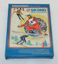 Mattell Intellivision Skiing Complete With Inlays and instructions and box