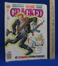 Vintage Cracked Comic Book Magazine 266 October 1991 We Wing Seagal 49 Pages
