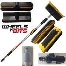 NEW EXTENABLE 2M Metre 6.6FT Car Van Truck Bus Caravan Window Wash Washing Brush
