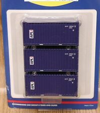 Athearn 20' containers - APL (vert. logo)