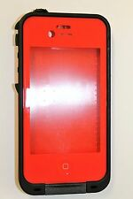 LifeProof Fre WaterProof Case for iPhone 4/4S ‑ Red/Black