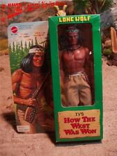 Karl May Winnetou Big Jim - How the West was won - LONE WOLF  - with box! Mattel