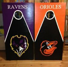 Baltimore Orioles/Ravens  Custom Made Cornhole boards and Free Bags