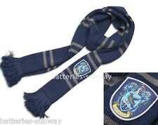 New Harry Potter Ravenclaw Thicken Wool Knit Scarf Wrap Soft Warm Costume 200cm