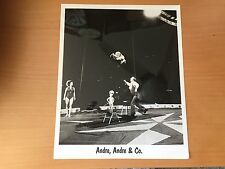 VINTAGE CIRCUS ACT Andre, Andre & Co Cirucs Acrobats - Young and Old Photo