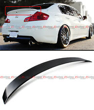 SPORT STYLE VIP REAR TRUNK SPOILER LIP FITS FOR 2009-2013 INFINITI G25 G37 SEDAN