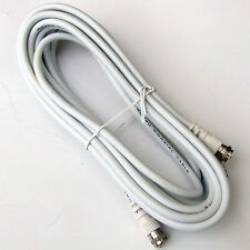 "3 METRE ""F"" EXTENSION  LEAD COAX TV & SATELLITE DISH HOME CARAVAN MOTORHOME"
