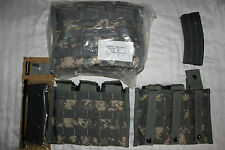 US ARMY Military Issue 30 RD Magazine Pouch in ACU Camoflauge Molle Gear NEW 20