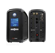 CyberPower Intelligent LCD CP1000AVRLCD 1000VA Tower UPS - 1000VA/600W