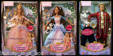 Anneliese Erika Barbie Doll King Dominick Princess and the Pauper Ken Lot 3 VG