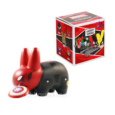 "2.5"" RED SKULL LABBIT vinyl figure KIDROBOT mini MARVEL frank kozik SERIES 1 '13"