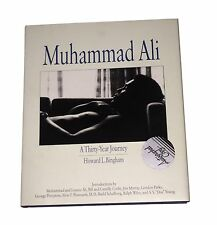 MUHAMMAD ALI A THIRTY YEAR JOURNEY HAND SIGNED BOOK BY ALI AND BINGHAM FIRST EDT