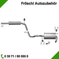 VW Polo 6N 1.0 1.3 1.4 1.6 Auspuffanlage Auspuff Anbausatz Abgasanlage ab Kat